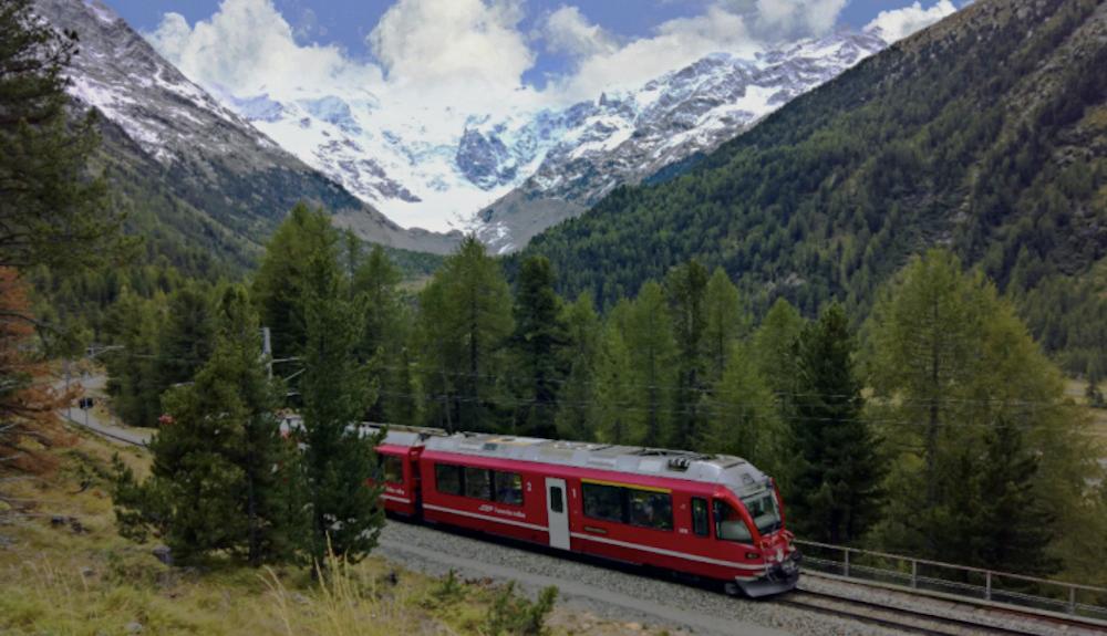Bernina Express St Moritz