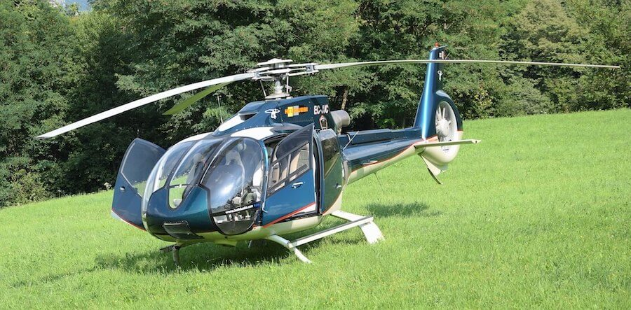 Lake Como helicopter tours and transfers